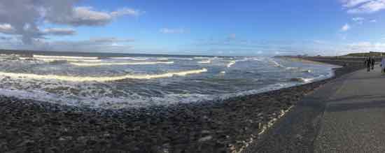 Am Nordseestrand hier Norderney